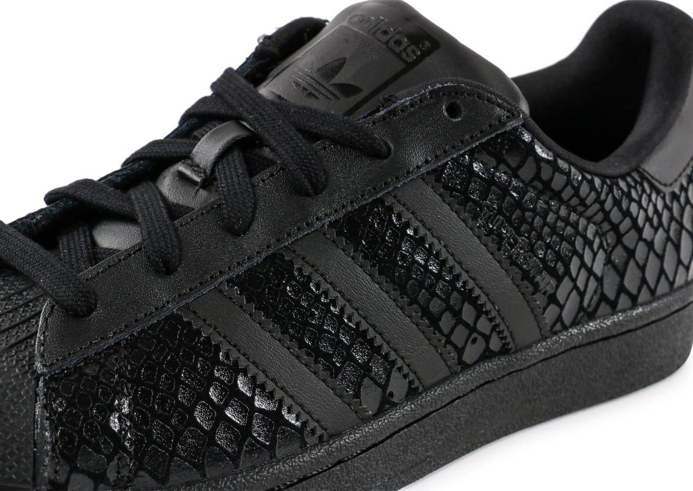 adidas superstar snake noir femme